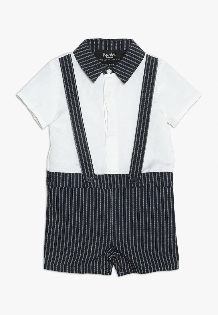 Bardot Junior - NELSON  GROW BABY - Jumpsuit - navy/white stripe