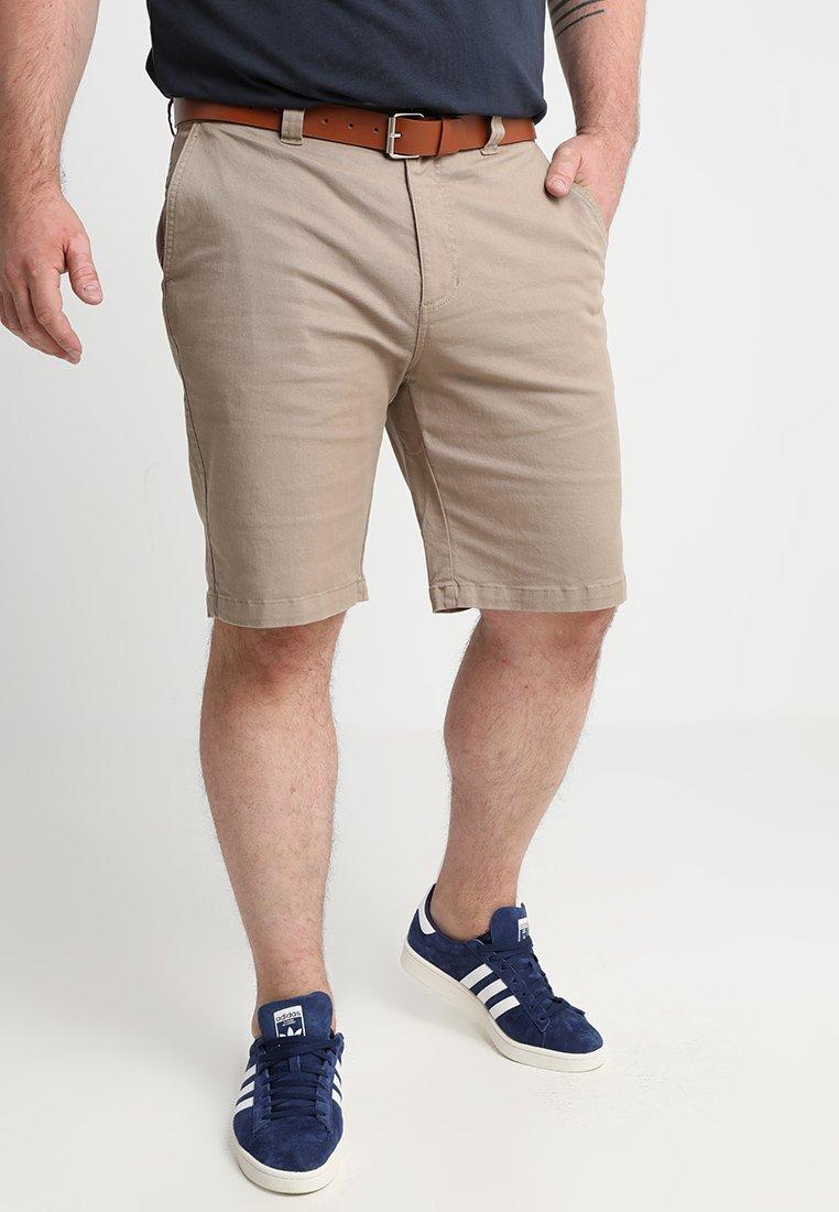 BAD RHINO - Shorts - stone