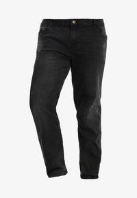 BAD RHINO - PLUS - Slim fit jeans - black - 4