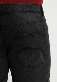 BAD RHINO - PLUS - Slim fit jeans - black - 5