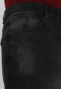 BAD RHINO - PLUS - Slim fit jeans - black - 3