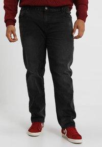 BAD RHINO - PLUS - Slim fit jeans - black - 0