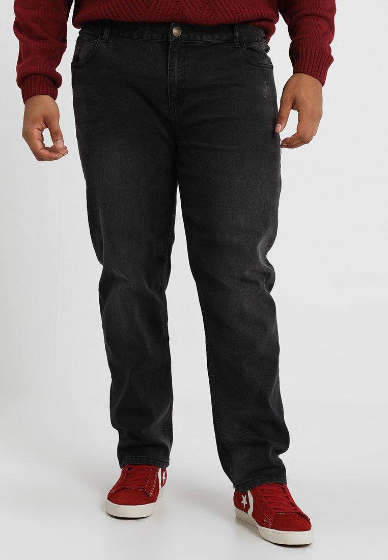 BAD RHINO - PLUS - Slim fit jeans - black