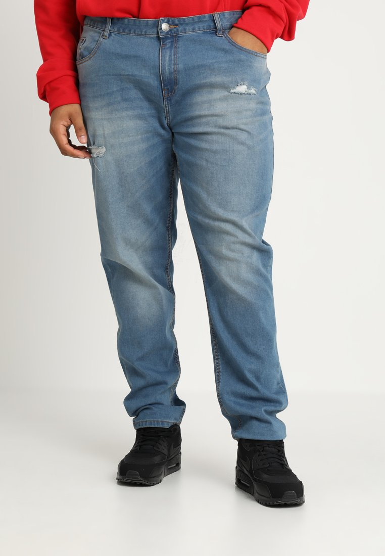 BAD RHINO - Slim fit jeans - mid wash