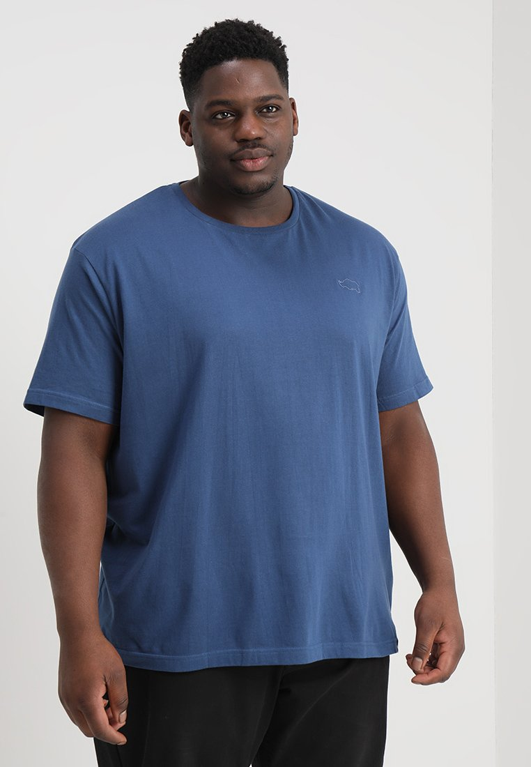 BAD RHINO - CREW TEE PLUS - T-Shirt basic - mid blue