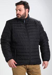 BAD RHINO - PADDED PANEL - Light jacket - black - 0