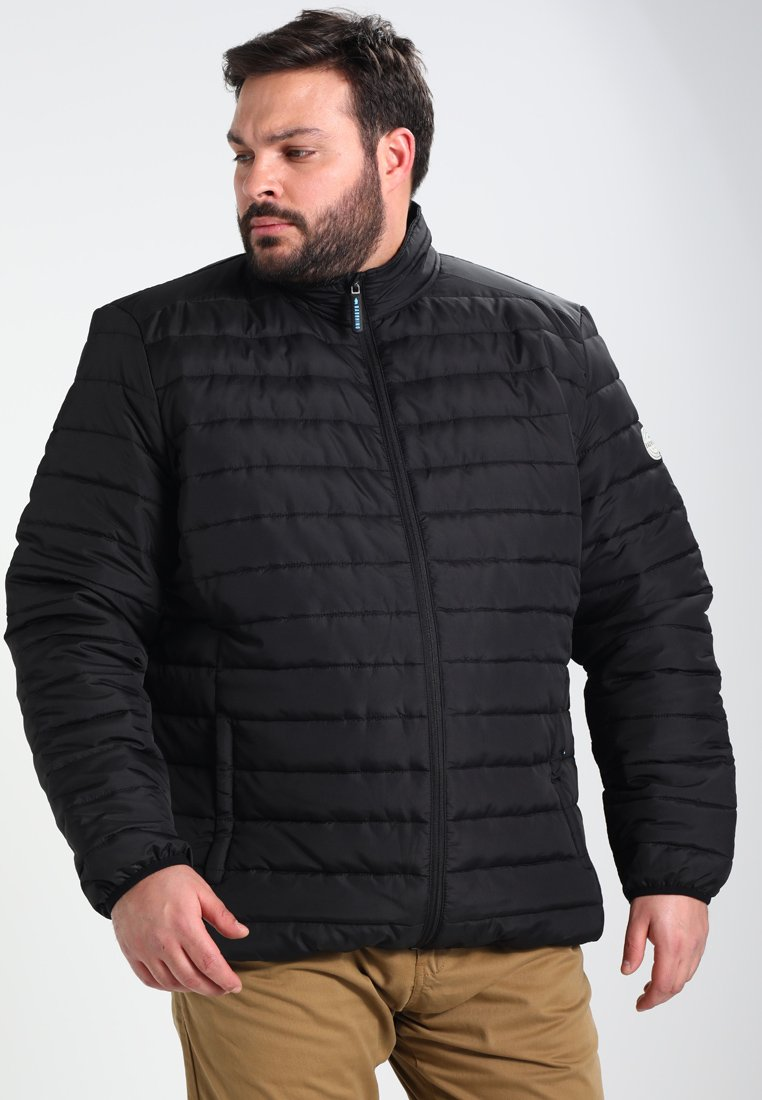 BAD RHINO - PADDED PANEL - Light jacket - black