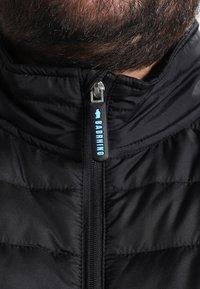 BAD RHINO - PADDED PANEL - Light jacket - black - 3