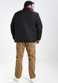 BAD RHINO - PADDED PANEL - Light jacket - black - 2