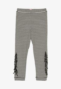 WAUW CAPOW by Bangbang Copenhagen - WAYNE - Leggings - black/white - 2