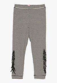 WAUW CAPOW by Bangbang Copenhagen - WAYNE - Leggings - black/white - 0