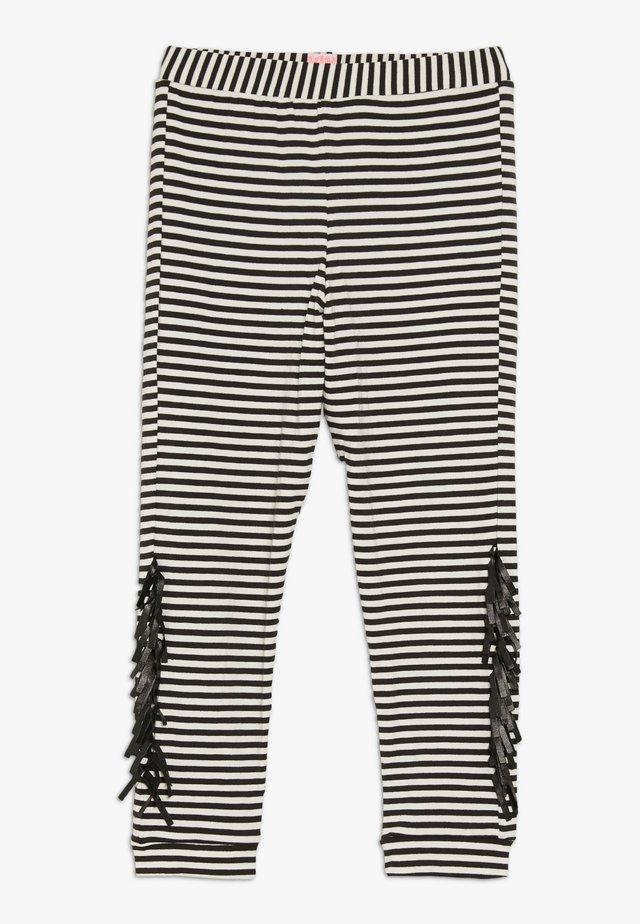 WAYNE - Leggings - black/white