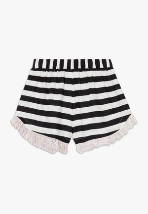 AUGUSTA STRIPED - Shorts - black/white