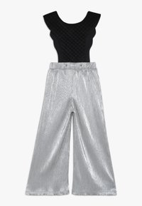 WAUW CAPOW by Bangbang Copenhagen - BIRD SUIT 2-IN-1 - Pantalones - silver/black - 1