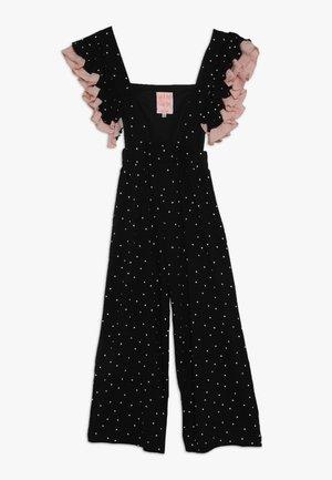 FRILL SUIT 2-IN-1 - Pantalones - black/white