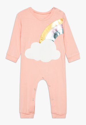 RAINBOW ONESIE - Mono - light pink