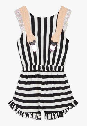 MEXICO - Jumpsuit - black/white