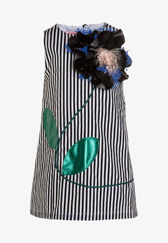FAB FRIDA - Denní šaty - black/white