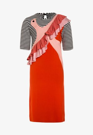 PEACE - Jersey dress - red