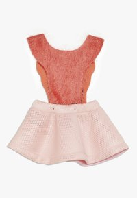 WAUW CAPOW by Bangbang Copenhagen - BIRD GIRL - Vestido informal - pink/coral - 1