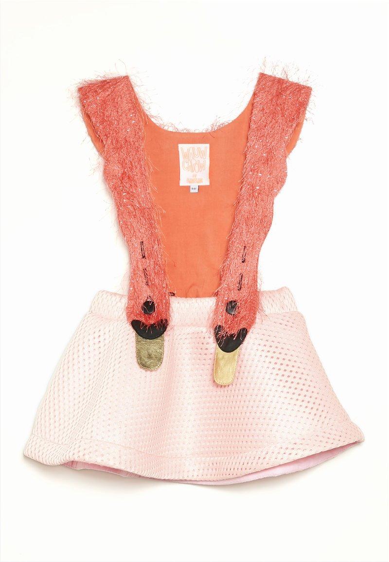 WAUW CAPOW by Bangbang Copenhagen - BIRD GIRL - Freizeitkleid - pink/coral