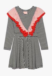 WAUW CAPOW by Bangbang Copenhagen - MONA - Jersey dress - black/white - 0