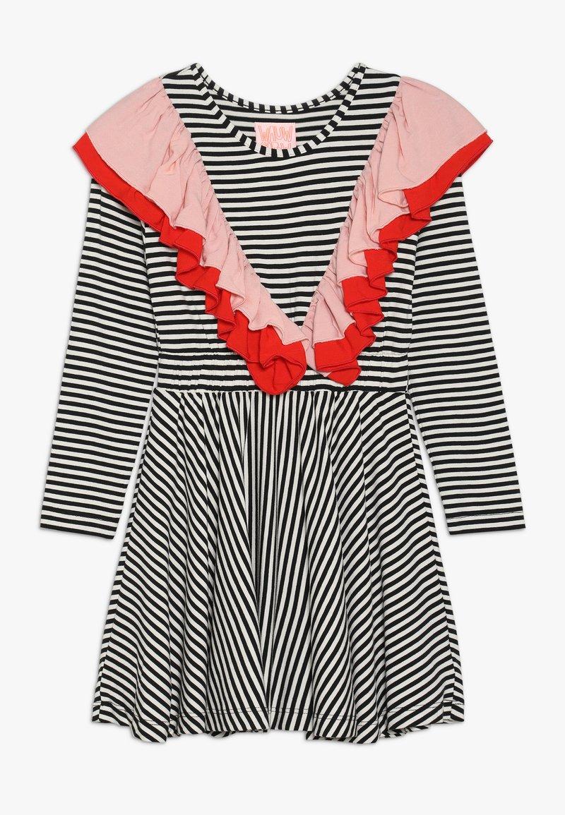 WAUW CAPOW by Bangbang Copenhagen - MONA - Jersey dress - black/white