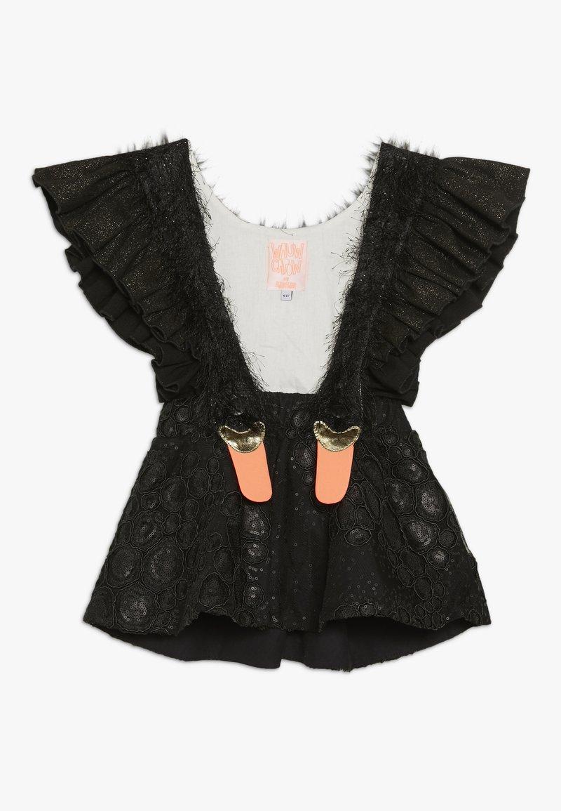 WAUW CAPOW by Bangbang Copenhagen - BIRD GIRL - Korte jurk - black