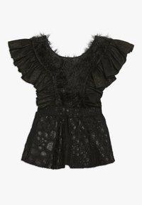 WAUW CAPOW by Bangbang Copenhagen - BIRD GIRL - Korte jurk - black - 1