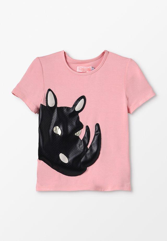 BAD RHINO - T-shirt print - light pink