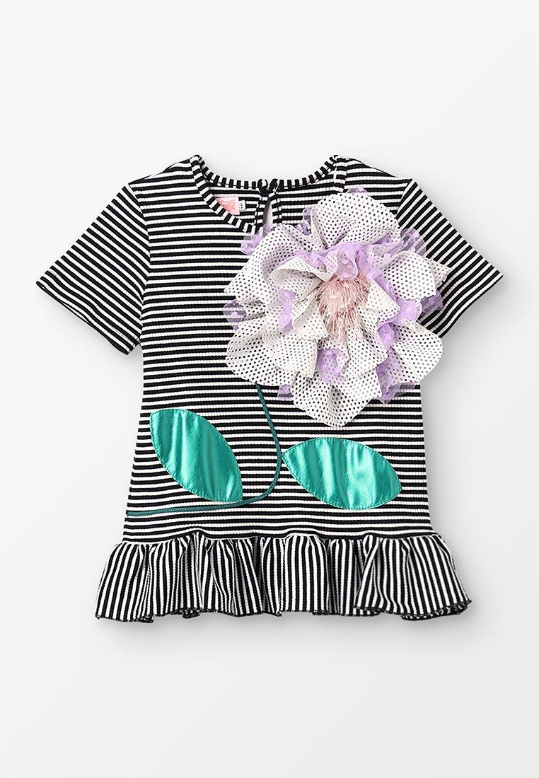 WAUW CAPOW by Bangbang Copenhagen - ELLY SUMMER - Print T-shirt - black/white