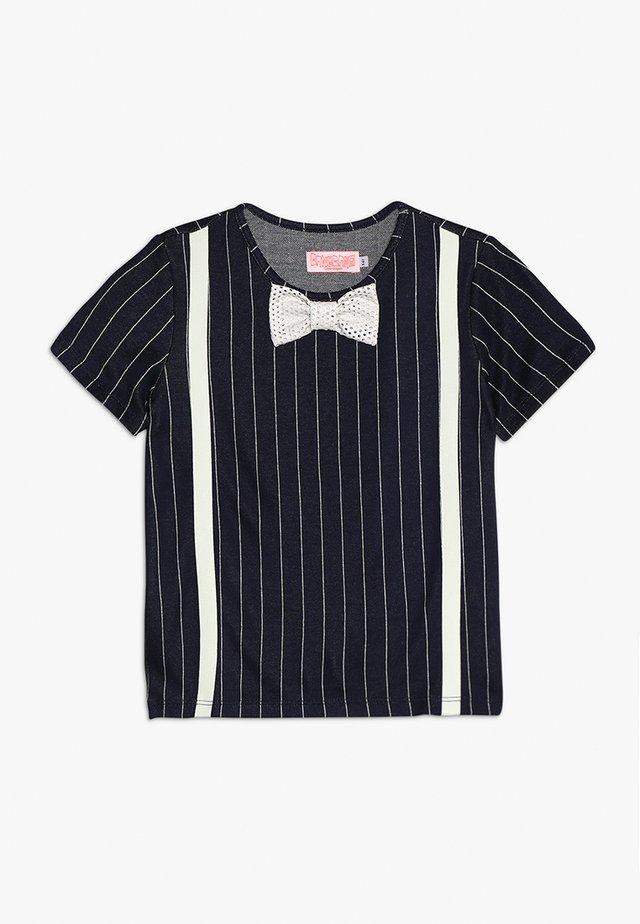 LOUIS - T-Shirt print - dark blue/white
