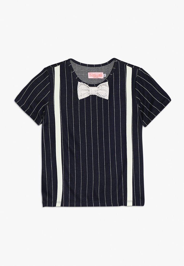 WAUW CAPOW by Bangbang Copenhagen - LOUIS - T-shirts print - dark blue/white