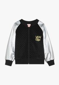 WAUW CAPOW by Bangbang Copenhagen - JACKET - Zip-up hoodie - black/silver - 0