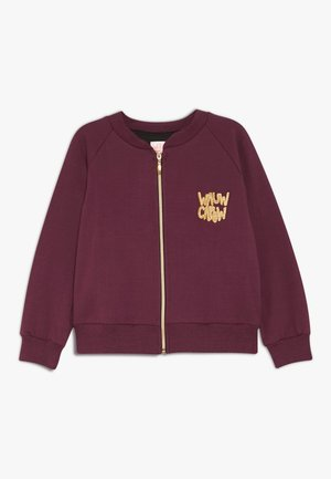 LOUD LARRY - Bluza rozpinana - bordeaux