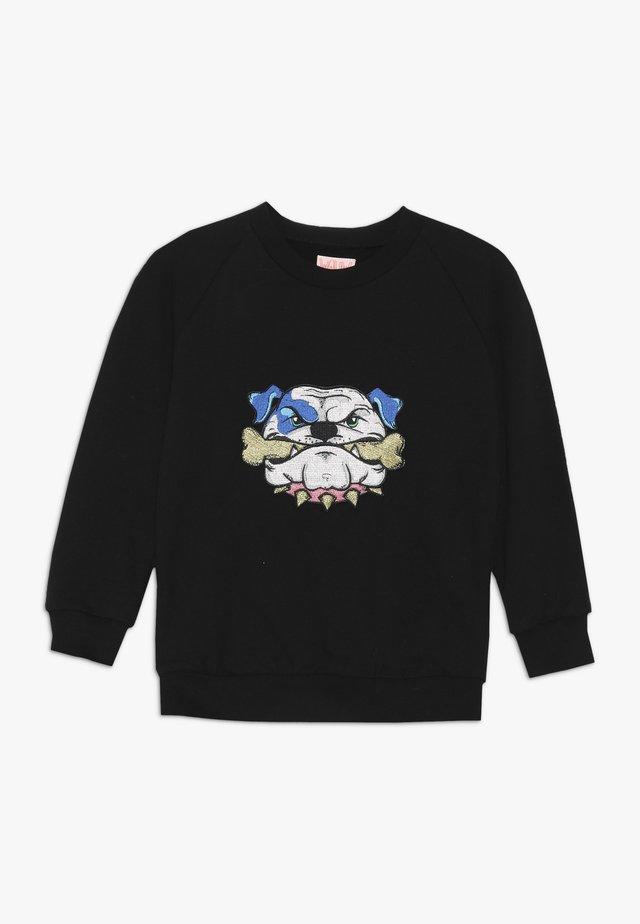 LITTLE LARRY - Sweater - black