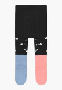 WAUW CAPOW by Bangbang Copenhagen - DINING DUO TIGHTS WITH FEET - Medias - black - 1