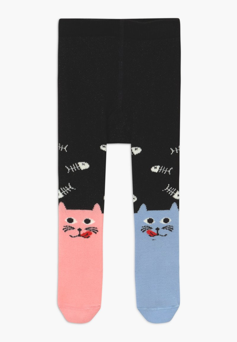 WAUW CAPOW by Bangbang Copenhagen - DINING DUO TIGHTS WITH FEET - Medias - black