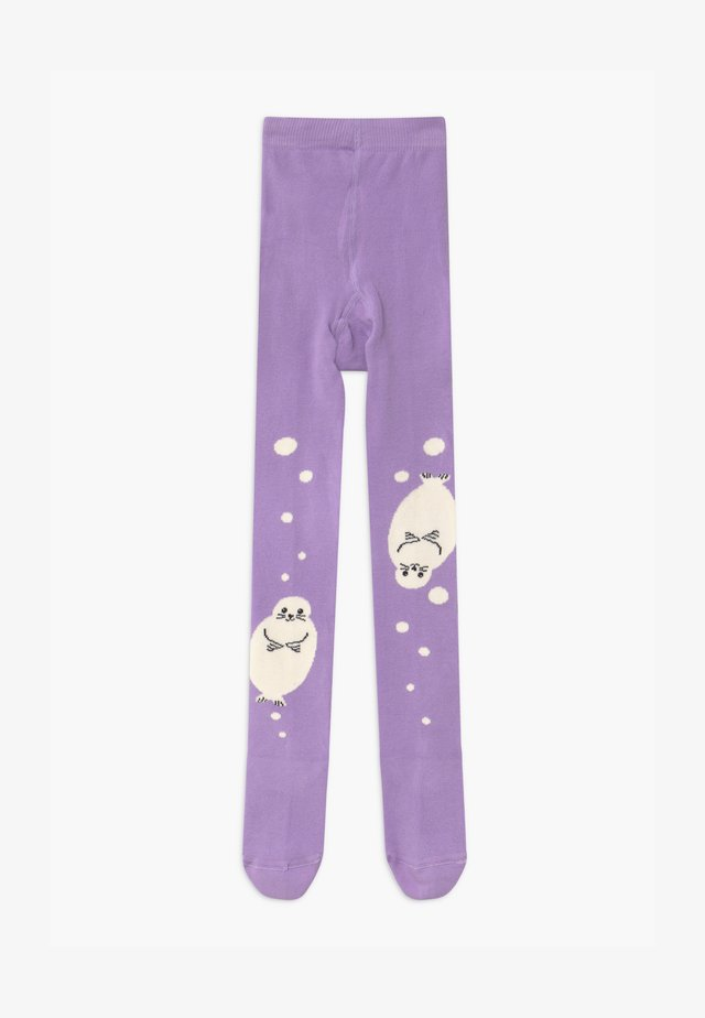 SWIMMING NUNU - Collants - purple