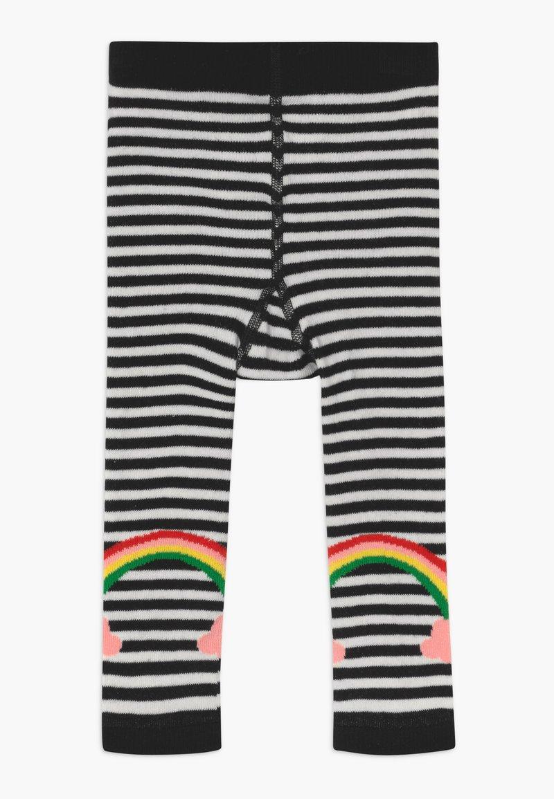 WAUW CAPOW by Bangbang Copenhagen - LUCKY RAINBOW - Leggings - white/black