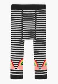 WAUW CAPOW by Bangbang Copenhagen - LUCKY RAINBOW - Leggings - white/black - 1