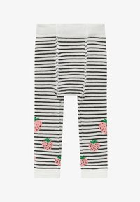 WAUW CAPOW by Bangbang Copenhagen - STRAWBERRY - Leggings - white/black
