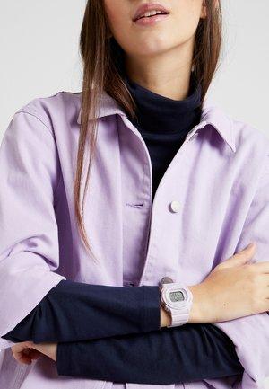 Digitální hodinky - rosa