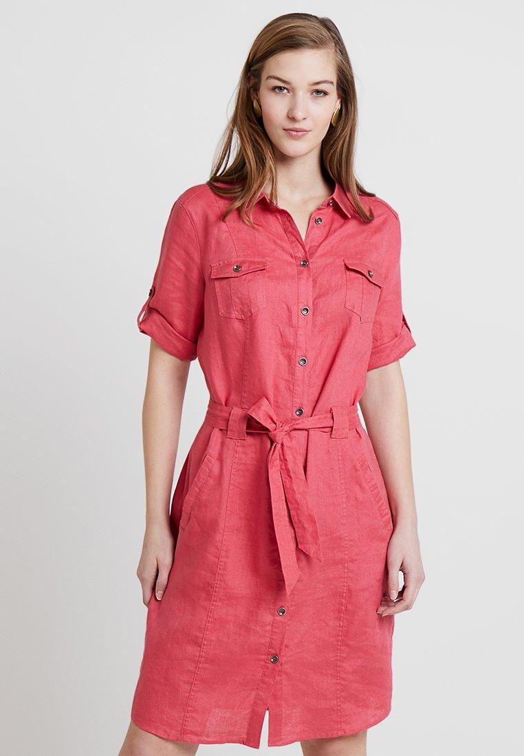 Barbara Lebek - Vestido camisero - flamingo