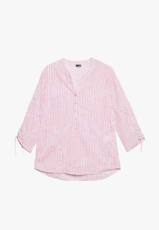 Blouse - rose/offwhite/orange