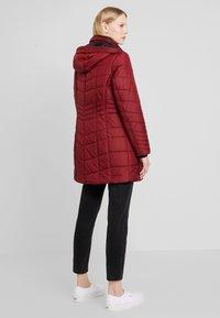 Barbara Lebek - Winter coat - burgundy - 2