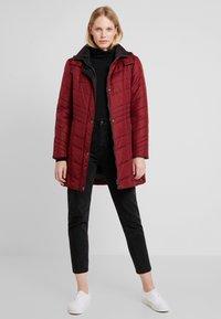 Barbara Lebek - Winter coat - burgundy - 1