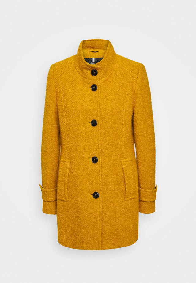 Classic coat - curry