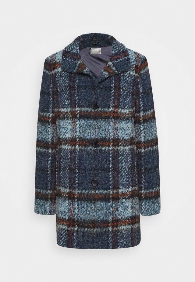 Wollmantel/klassischer Mantel - denim