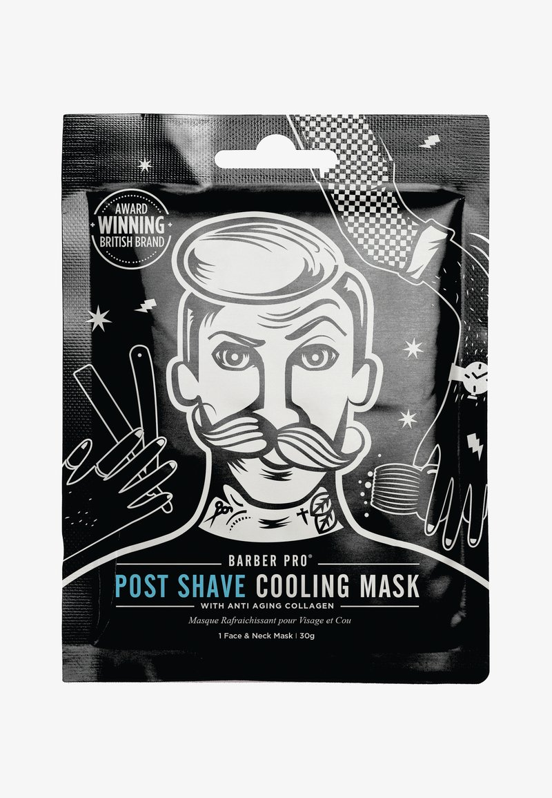 Barber Pro - POST SHAVE COOLING MASK 30G - Masker - -